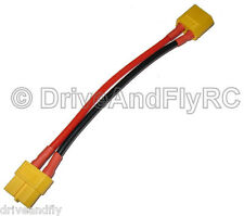 XT60 Male to XT60 Female 10CM Long 14awg XT-60 Male Connector Female Extension