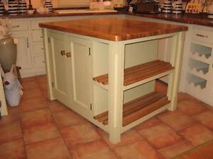 Image Is Loading Murdoch Troon Freestanding Painted Pine Kitchen Island Unit
