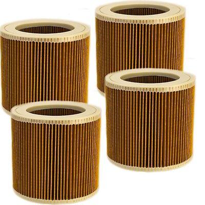 4x Lamellen Filterpatrone Filter Ersatz f SE 4002 Kärcher SE 4001 6.414-552.0