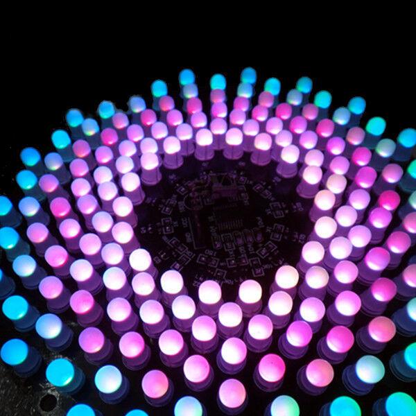 New DIY Electronic Aurora Kit RGB LED Flashing Kit
