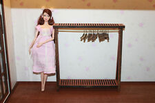 Doll Furniture Bed Room Brown Clothes Stand ~ Scale 1:6 Pullip Blythe Momoko