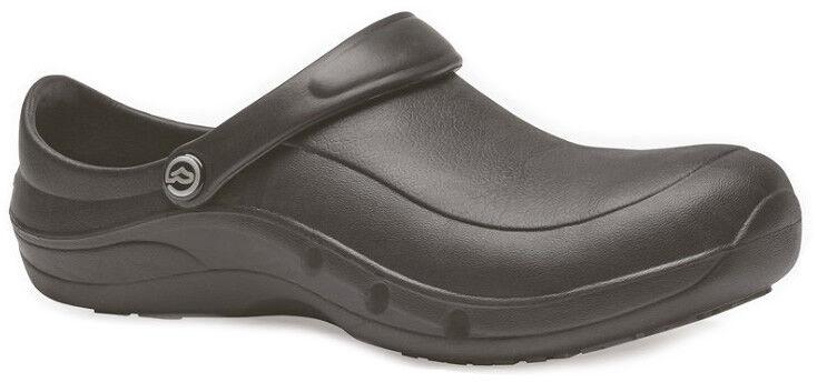 Toffeln Ezi Protekta Safety Clog 855 - Black - Washable Work Shoes