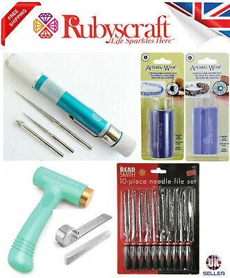 Beadsmith Ergo Hammer Bracelet Bending Artisitic Wire 6 4 Prong Knitter Tool