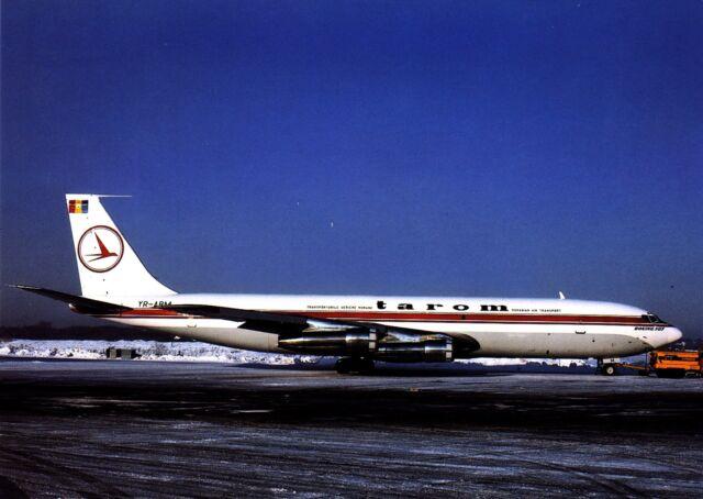 Tarom , Boeing 707-321C ,  Ansichtskarte