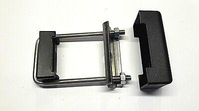 Befestigung Doppelstabmattenzaun Zaun Pfosten Auflagebock Halterung 20x 40x60 mm