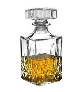 90cl-whisky-Glass-Bottle-Decanter-Wine-Sherry-Liquer-Jar-UK-STOCK-FAST