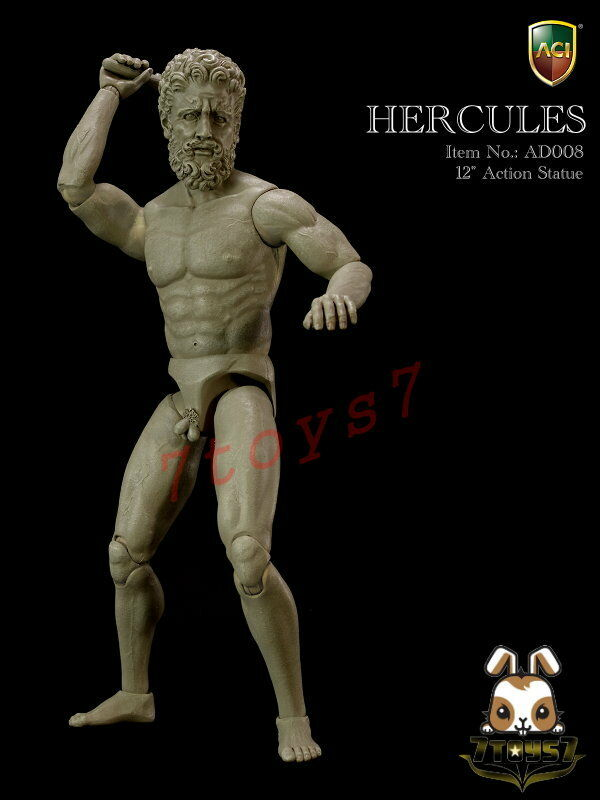 Aci spielzeug 1   6 ad008 action - statue - hercules_ abbildung nur _no feld der kunst at073y
