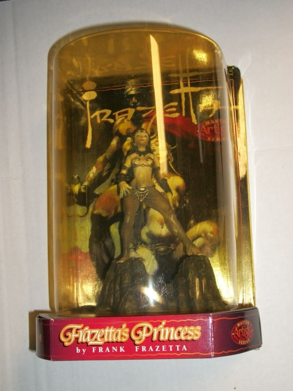 Rare Previews Exclusive Frank FRAZETTA'S PRINCESS Master Artist Figure