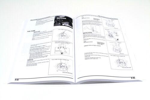New Honda Service Shop Repair Manual ARX1200 Aquatrax  2004-2007 F12X 3 Seat#o77