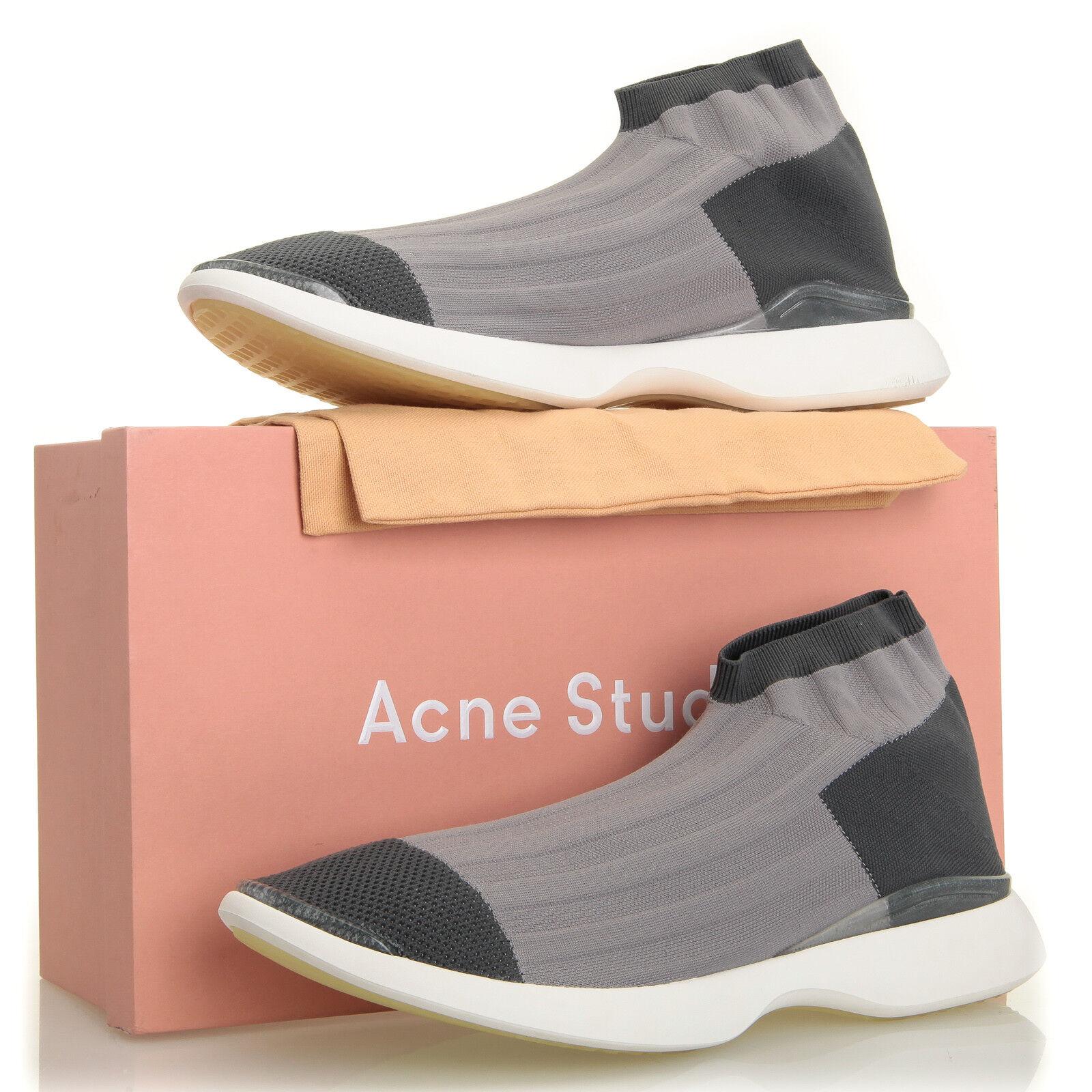 Acne Studios Tristan Low Grey Sock  - Uomo   12 (EU 45)