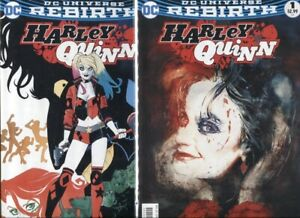 Harley Quinn #1 Comic Book Ant Lucia Variant Cover Limited to 3000 Rebirth