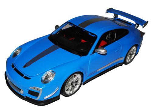 Porsche 911 997 GT3 RS 4.0 Coupe Blau 2004-2012 1000 Stück limitiert 1//18 Bbur..