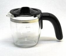 Glaskanne 4 Tassen für Espressomaschinen u.a. ca. H:88mm, Ø (oben-innen) 74,5mm