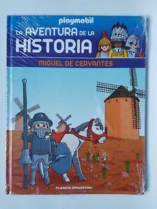Playmobil-Coleccion-Libros-La-Aventura-de-la-Historia-N-58-Cervantes-Libro