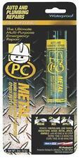NEW 025550 PC METAL 2 OZ GRAY WATERPROOF STEEL EPOXY PASTE  HEAVY DUTY 6779565
