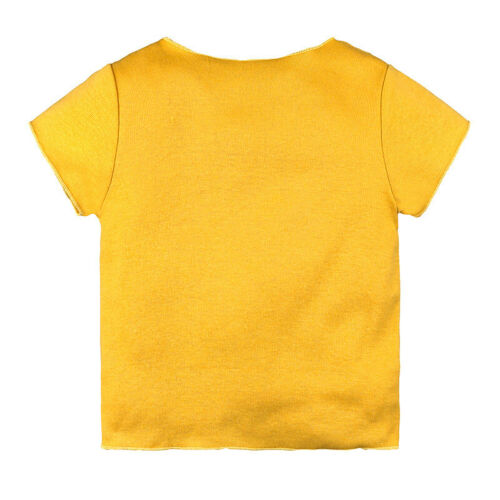 Toddler Baby Kids Boy Girl Cotton Short Sleeve T Shirt Tops Casual Clothes