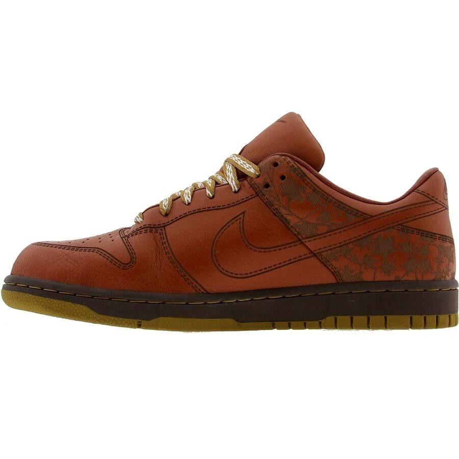Láser Potro 312424222 Nike Dunk Low 1 Pieza Ltd Cuero Potro Láser Marrón Musgo español Jp 48621d