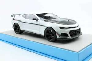 LUCKY-STEP-039A-ZL1-1LE-CAMARO-HENNESSEY-EXORCIST-resin-model-car-white-1-18th