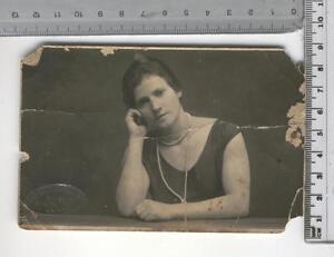 Cartolina Tematica Donna In Abito Elegante Inizio 900 17099 Ebay