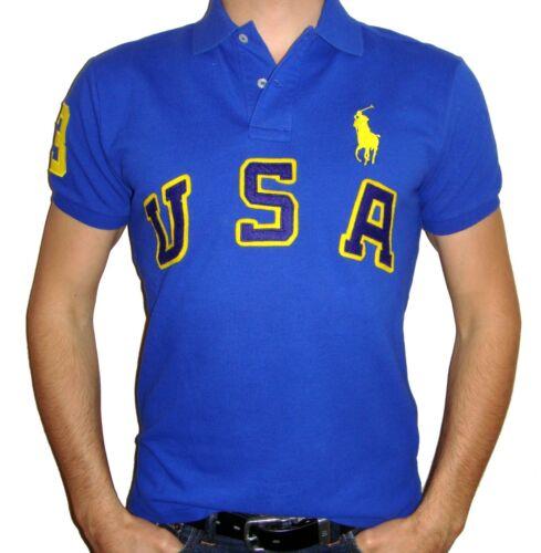 Polo Ralph Lauren Men/'s USA Big Pony Polo Shirt
