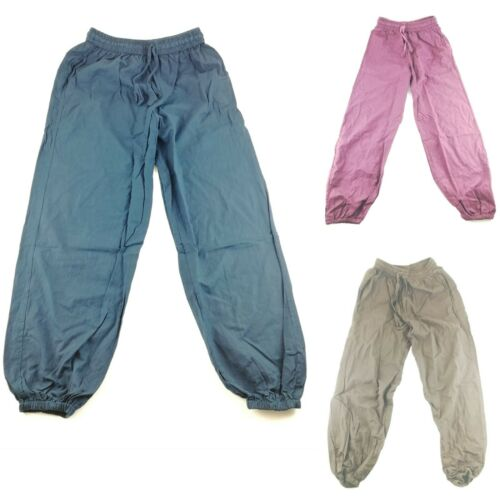 Cotton Trousers Hippie Yoga Pant Festival unisex handmade Nepal comfy kurtha