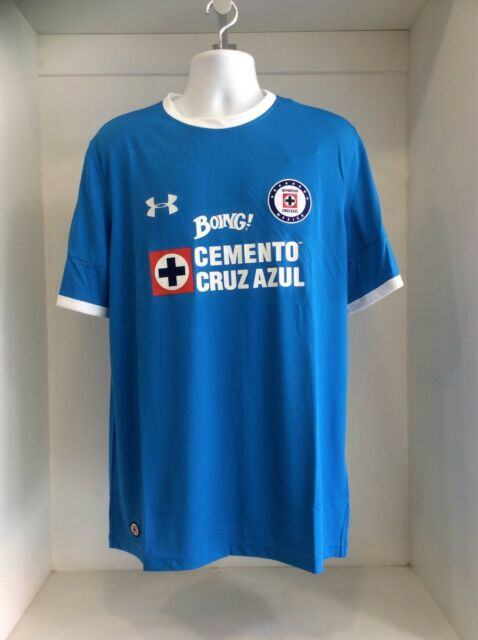 881ad495dea Cruz Azul Home Replica Jersey 2017  2017 Under Armour XL for sale ...