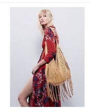 Free People Jones Fringe Hobo Bag By Muche et Muchette Retails $149.00 NWT Authe