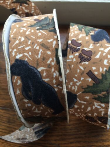 """DESIGNER DISPATCH NATURAL ANCHORAGE 30 YARDS /""""/""""ONE-SIDED/"""" FABRIC RIBBON"""
