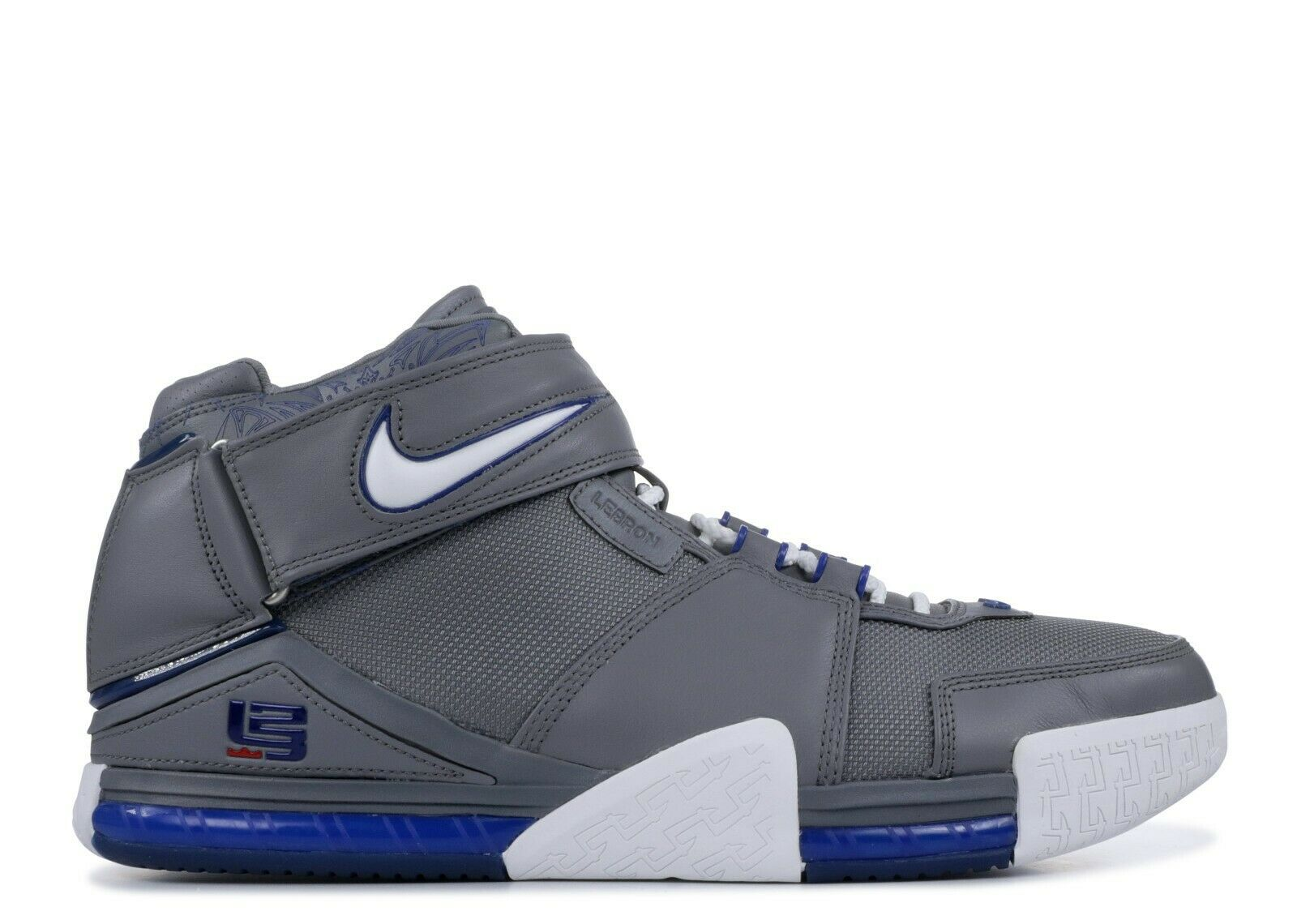 Nike Zoom Lebron II 2 All Star Sz 8 Cool Grey SVSM Superman Complex Oregon PE