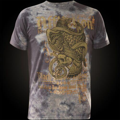 Affliction T-shirt The End Gris T-shirts