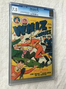 Whiz-Comics-80-CGC-7-5-off-white-to-white-pages-Fawcett-Nov-1946-Bender-Beck