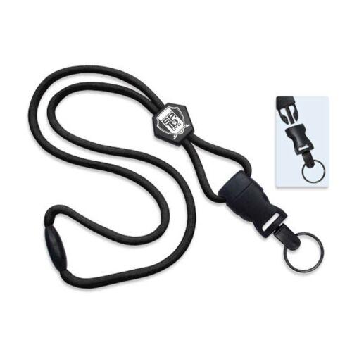 Heavy Duty Breakaway Lanyard with Detachable Key Ring /& Slider by Specialist ID