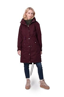 Details zu Danefae Hound Winter Jacket dk khaki Damen Wintermantel