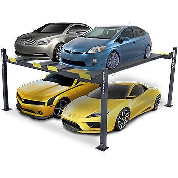 BendPak Hd-9sw 9 000-lb  Capacity Double 4 Post Super Wide Car Lift