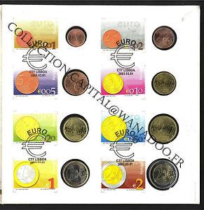 BU Portugal Postal 2002. Coffret 8 Pièces
