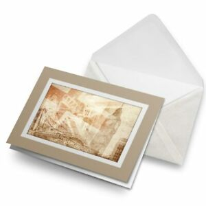 Greetings-Card-Biege-Vintage-London-Tourist-Sights-15615