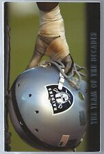 2007 Oakland Raiders NFL Football Media Guide Record Book