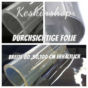tischschutz folie 2mm meterware tischdecke transparent durchsichtig 80 90 100cm ebay. Black Bedroom Furniture Sets. Home Design Ideas