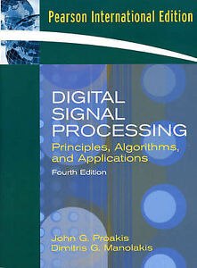 Details about Digital Signal Processing: Principles, Algorithms, and  Applications by John G  P