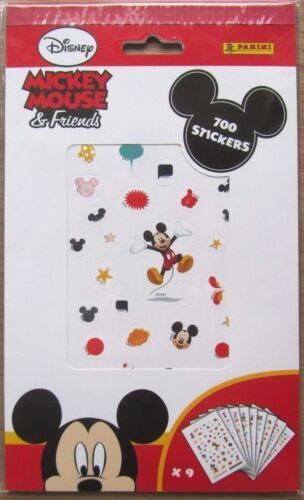 700 petits autocollants Mickey Mouse /& Friends autocollants Nouveau DISNEY Neuf dans sa boîte