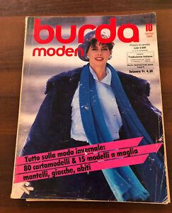 Burda-moden-10-1984-stile-invernale-con-allegato-traduzione-e-cartamodelli