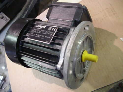 base mount 1800rpm New Lafert IEC size 63 motor .18hp 230//460v 3ph ST63C4 face