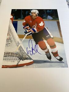 Doug-Gilmour-Autographed-8x10-Photo-Team-Canada-Toronto-Maple-Leafs