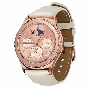 Samsung Galaxy Gear S2 Classic Sm R732 18k Plated Rose Gold