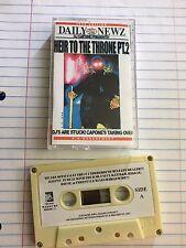 DJ Capone Heir to the Throne Pt.2 Harlem NYC Mixtape 90s Hip Hop Cassette Tape