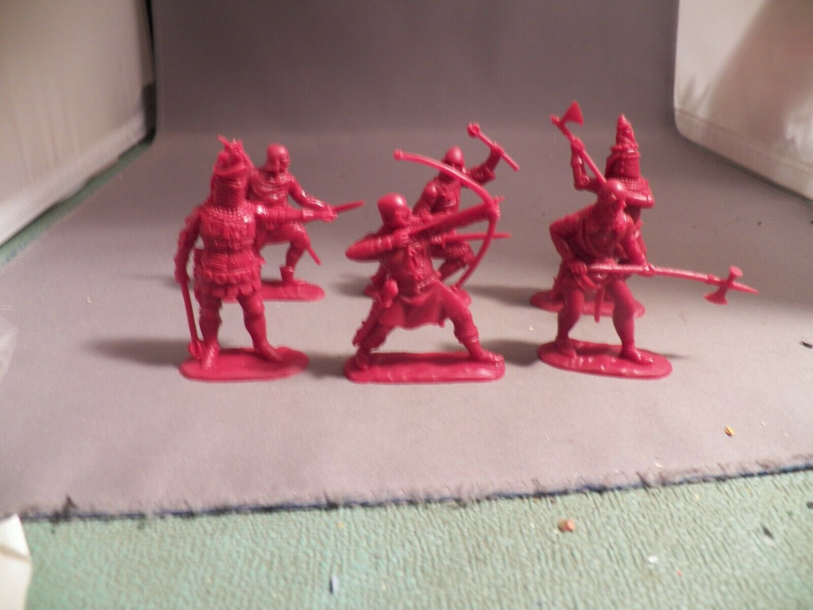 Publius 54mm English Foot Knights Six Different  Out of Production