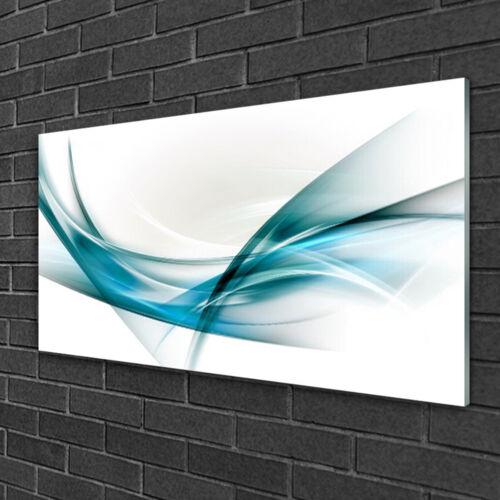 Acrylglasbilder 100x50 Wandbild Druck Abstrakte Linien Kunst
