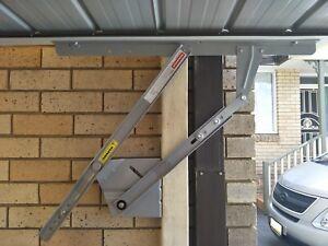 Single-Garage-Tilt-Door-no-track-A-Pair-of-70J-150J-Arm-Compatible-B-amp-D
