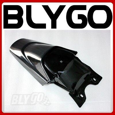 Black Plastic Front Wheel Mud Guard Fender KLX110 Style PIT PRO Trail Dirt Bike