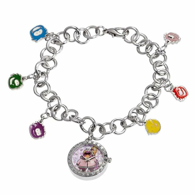 Disney Club Penguin Bracelet Watch With Charms Lot Of 10